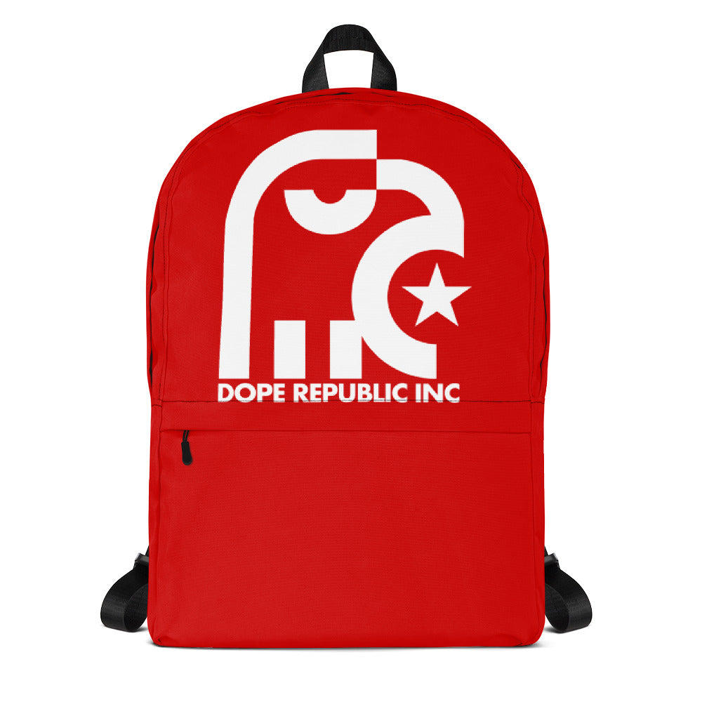 Dope Republic Red Backpack