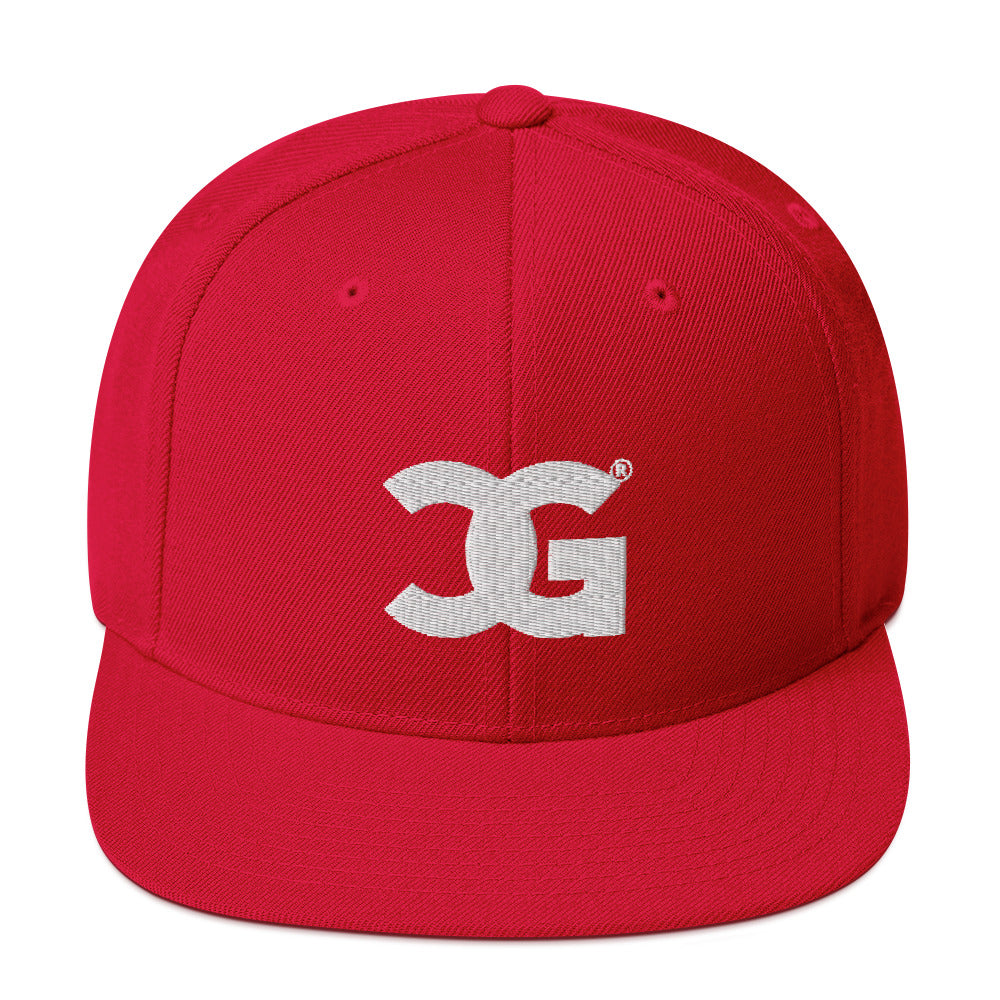 Cxcaine Gvng Snapback Red Hat