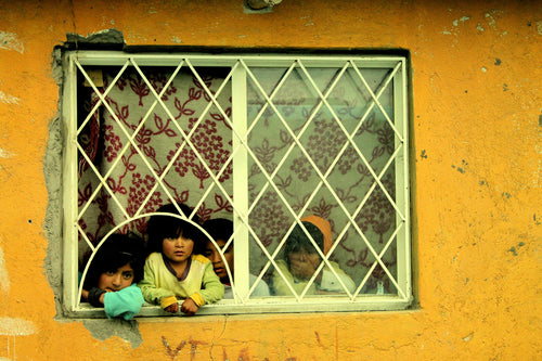 Children in the Window