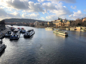 Boats on the Danube - Prague