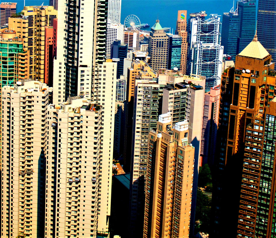 Central Hong Kong from The Peak