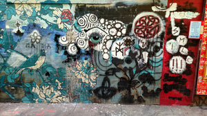 Graffiti - North Beach, San Francisco