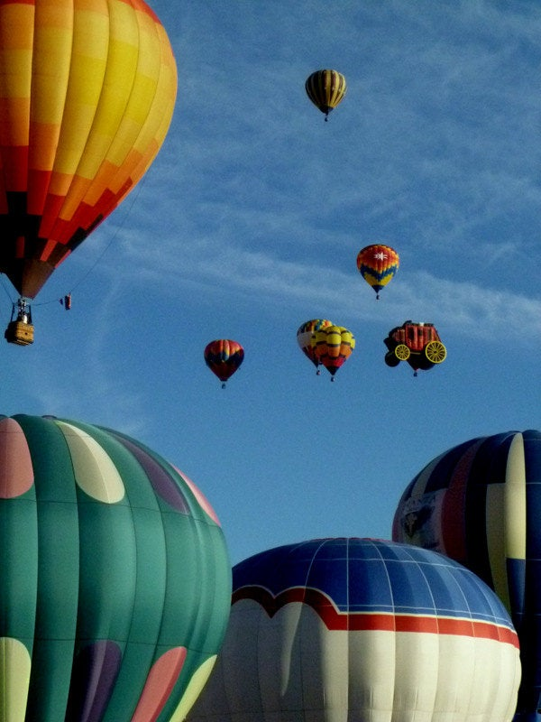 Hot air balloon races - Reno, Nevada