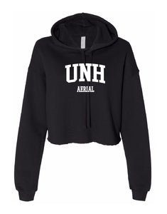 UNH Aerial Ladies' Cropped Fleece Hoodie