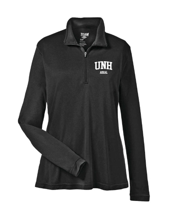 UNH AERIAL Ladies' Zone Performance Quarter-Zip