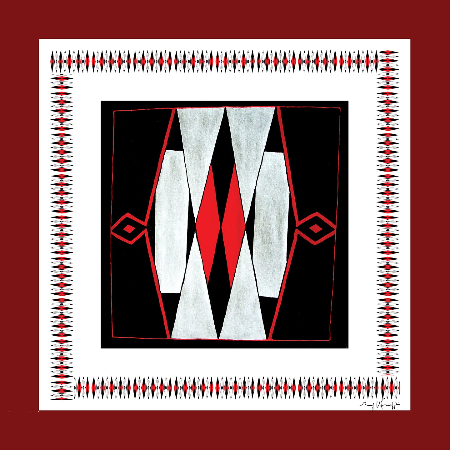 Scarf Large Square - DESIGN INDIGENOUS 02