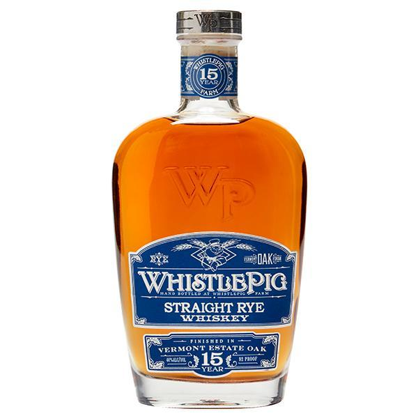 WhistlePig 15 Year Straight Rye