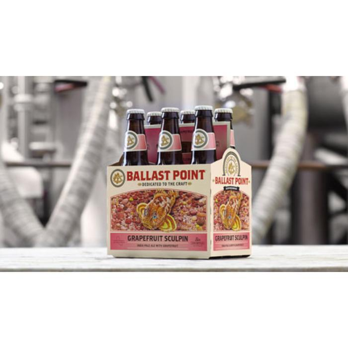 Ballast Point Grapefruit Sculpin IPA Beer Ballast Point