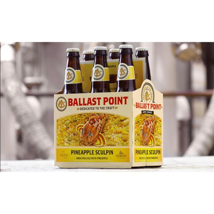 Ballast Point Pineapple Sculpin IPA Beer Ballast Point