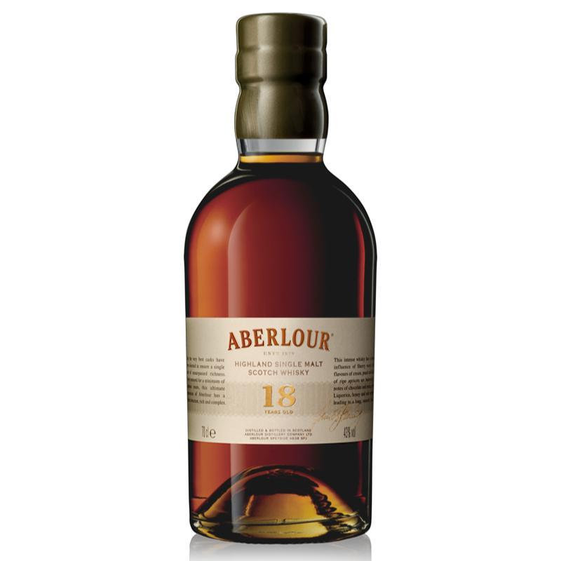 Aberlour 18 Year Old Scotch Aberlour