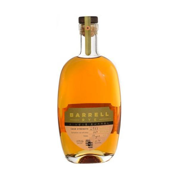 Barrell Rye Single Barrel Rye Whiskey Barrell Craft Spirits