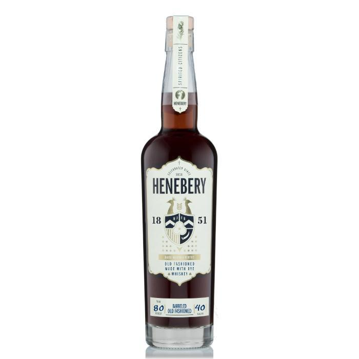 Henebery Old Fashioned Rye Whiskey Henebery