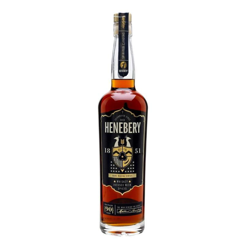 Henebery Small Batch Infused Rye Whiskey Rye Whiskey Henebery