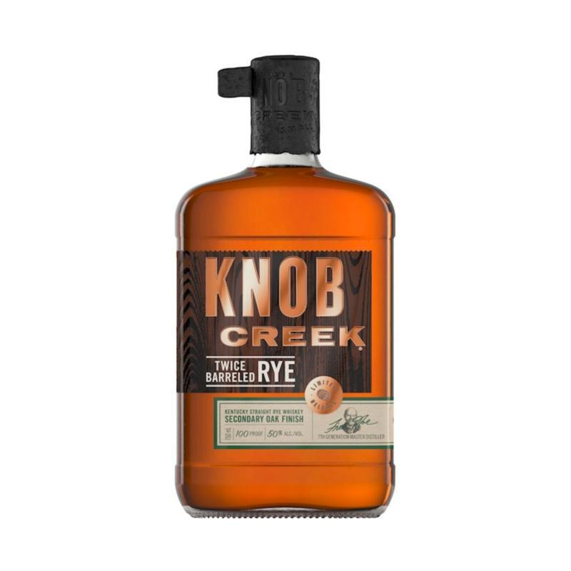 Knob Creek Twice Barreled Rye Rye Whiskey Knob Creek