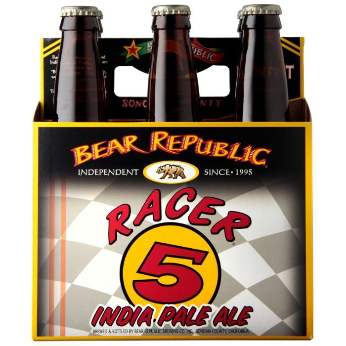 Racer 5 IPA Beer Bear Republic