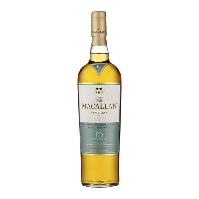The Macallan 15 Year Old Fine Oak Scotch The Macallan