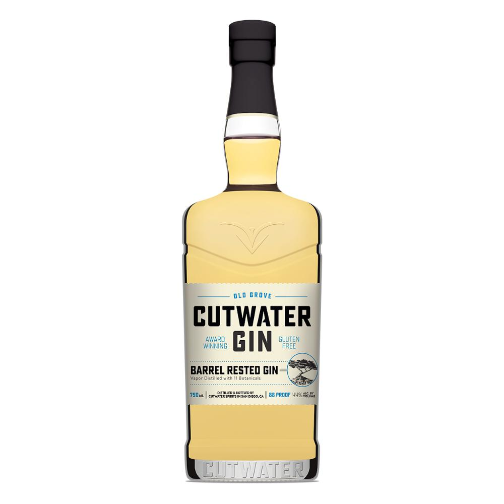 Barrel Rested Old Grove Gin Gin Cutwater Spirits