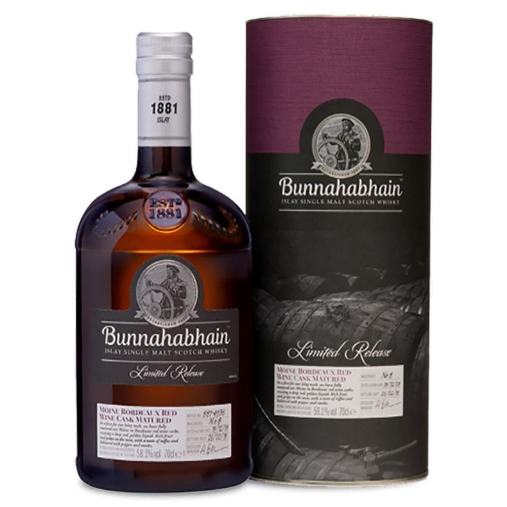 Bunnahabhain 2008 Mòine Bordeaux Red Wine Cask Matured Scotch Scotch Bunnahabhain