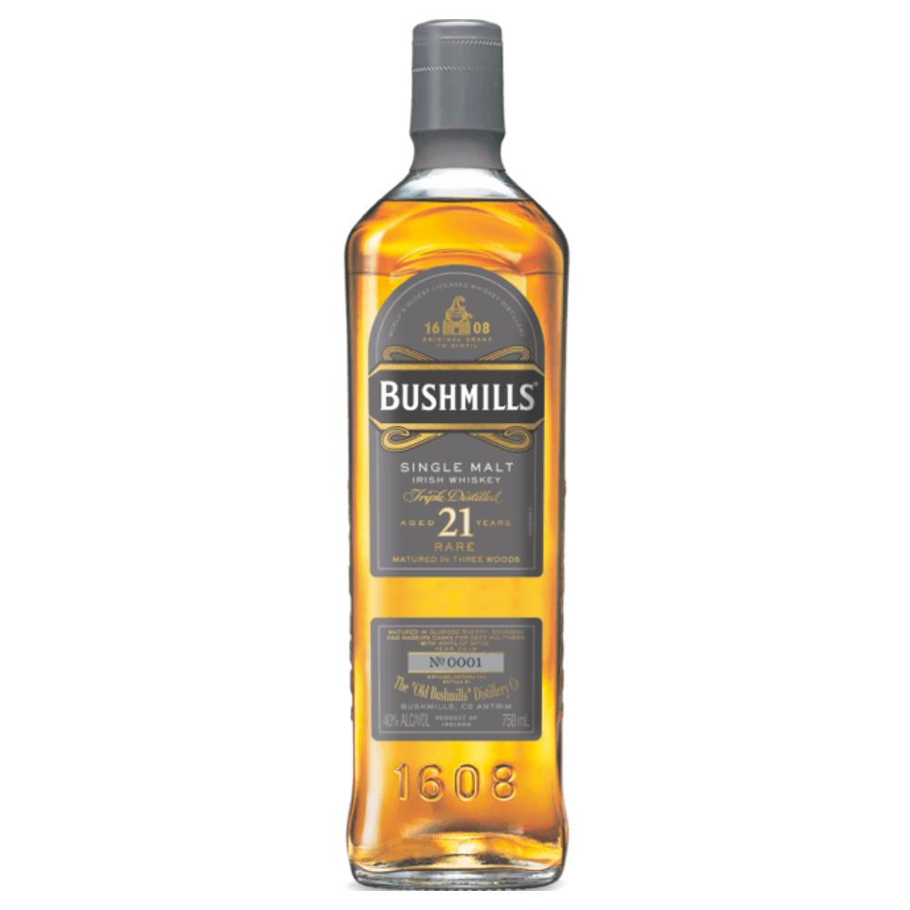 Bushmills 21 Year Old Single Malt Irish whiskey Bushmills