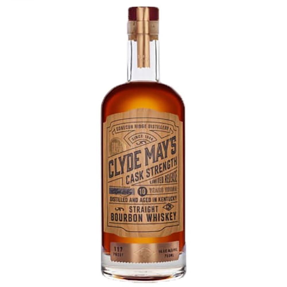 Clyde May's Cask Strength 10 Year Old Bourbon Bourbon Clyde May's