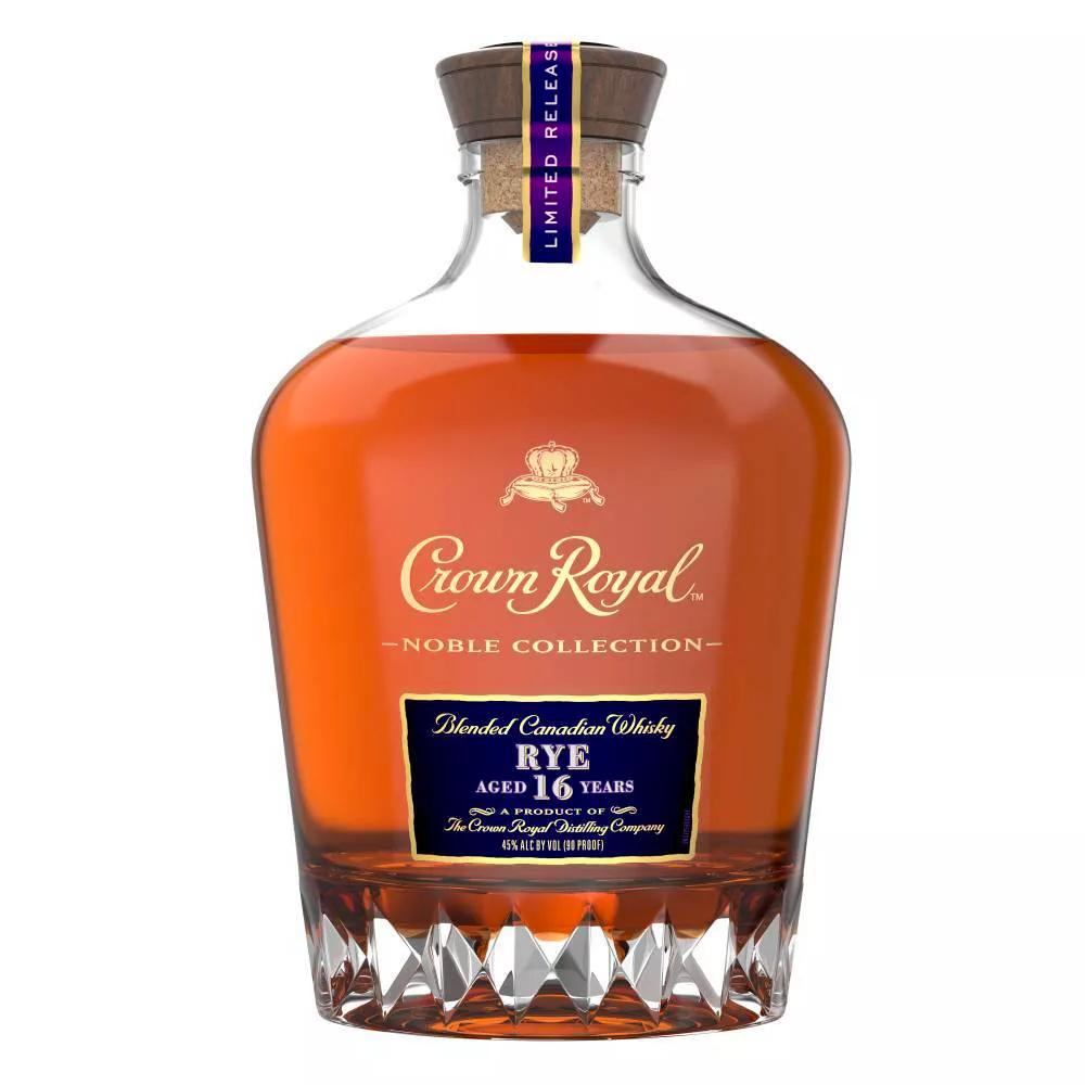 Crown Royal Noble Collection 16 Year Old Rye Canadian Whisky Crown Royal