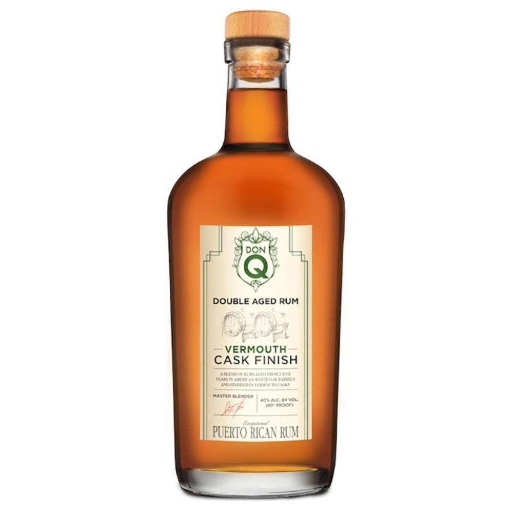 Don Q Double Aged Vermouth Cask Finish Rum Rum Don Q