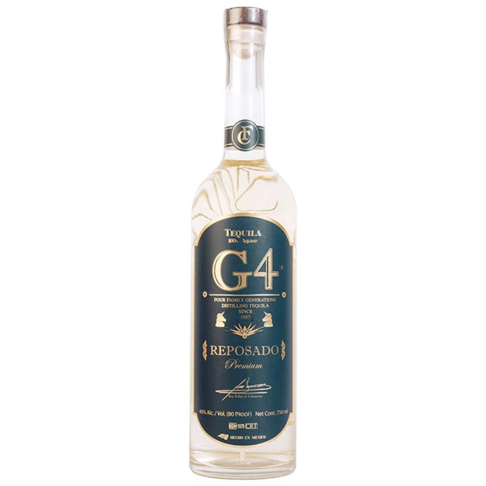 G4 Tequila Reposado Tequila G4 Tequila