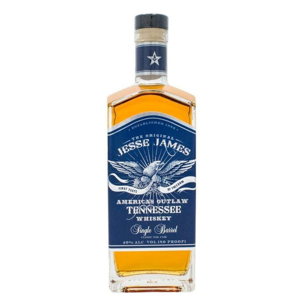 Jesse James America's Outlaw Single Barrel American Whiskey Jesse James Spirits