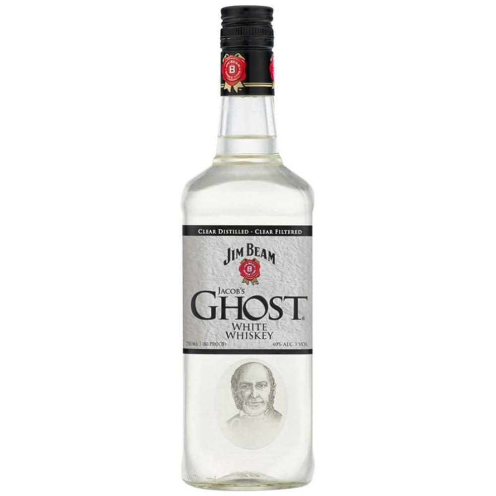Jim Beam Jacob's Ghost White Whiskey Bourbon Jim Beam