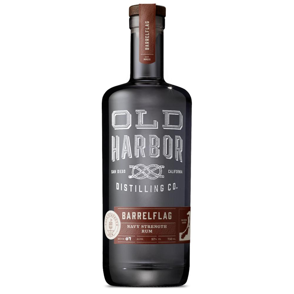 Old Harbor Barrelflag Navy Strength Rum Rum Old Harbor Distilling Co.