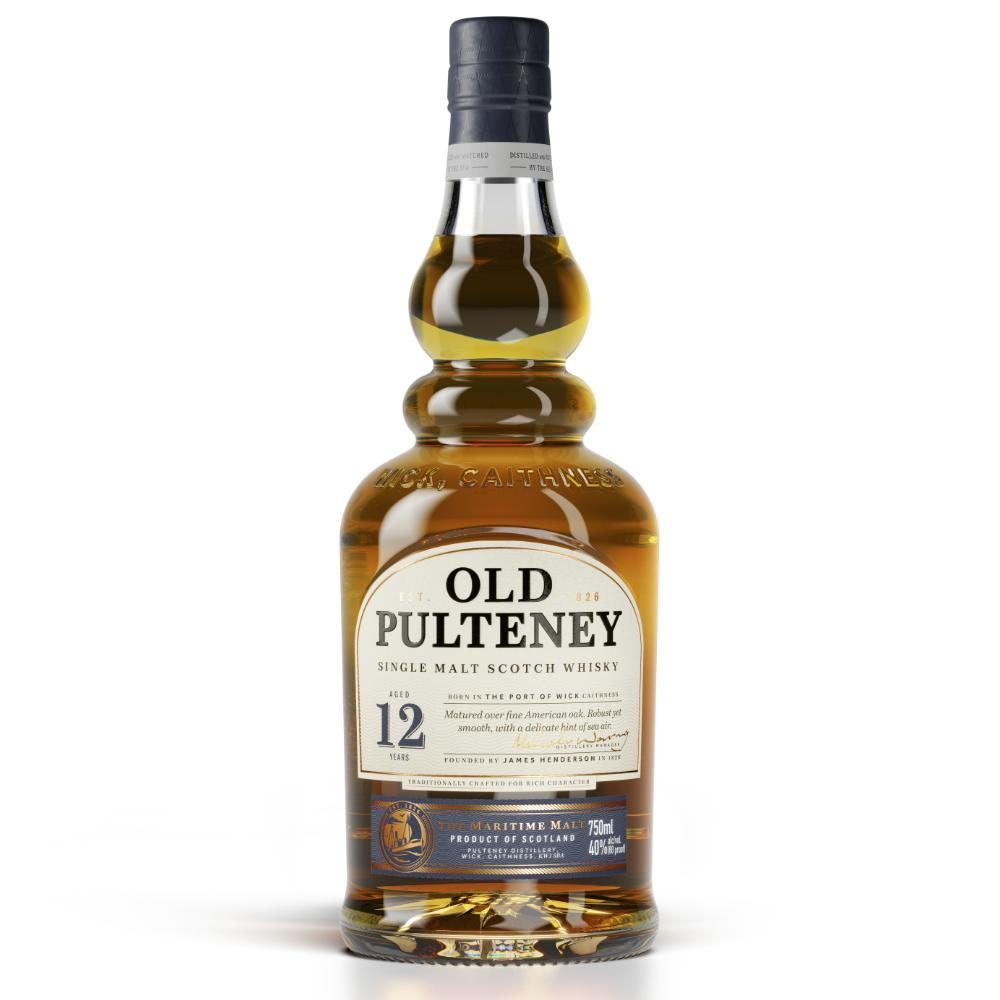 Old Pulteney 12 Year Old Scotch Scotch Old Pulteney