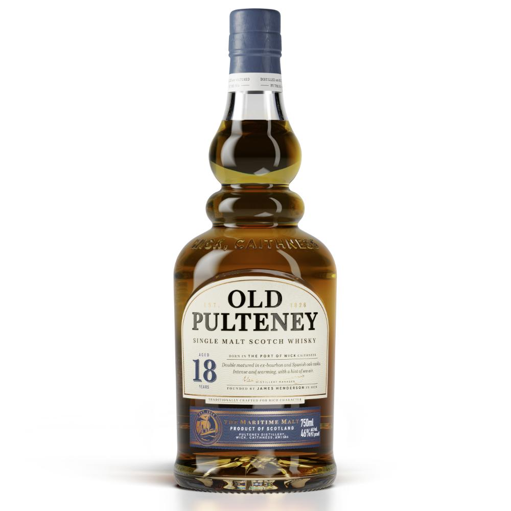 Old Pulteney 18 Year Old Scotch Scotch Old Pulteney