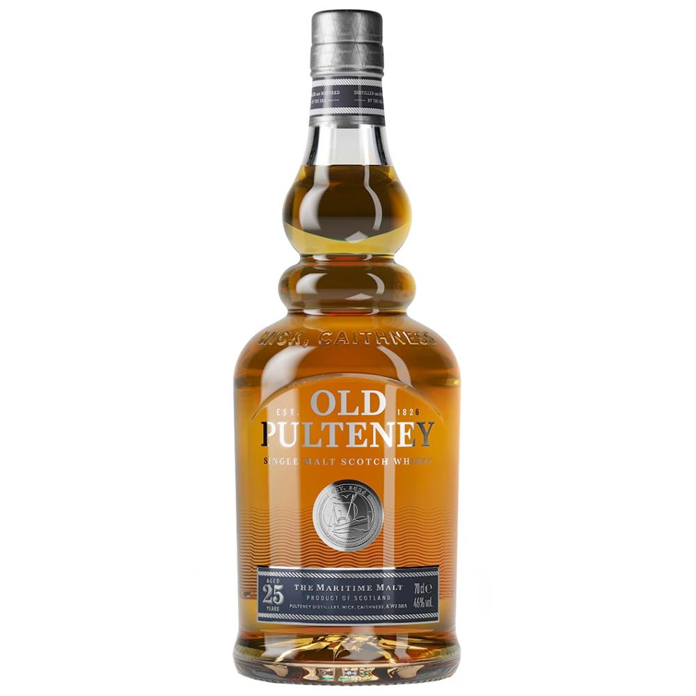 Old Pulteney 25 Year Old Scotch Old Pulteney