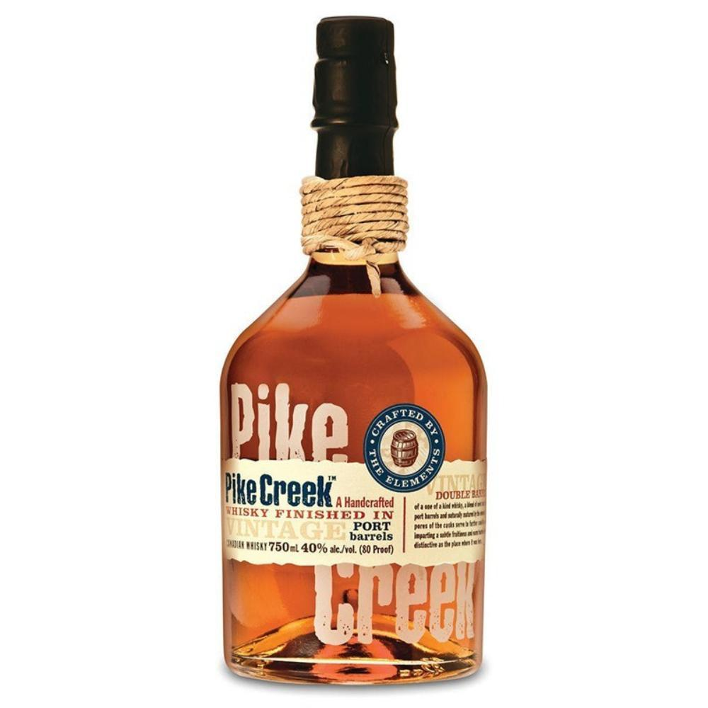 Pike Creek Whisky Finished In Port Barrels Canadian Whisky Pike Creek