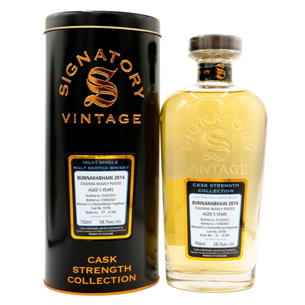 Signatory Single Cask Staoisha 5 Year (Cask #10756) Scotch Signatory