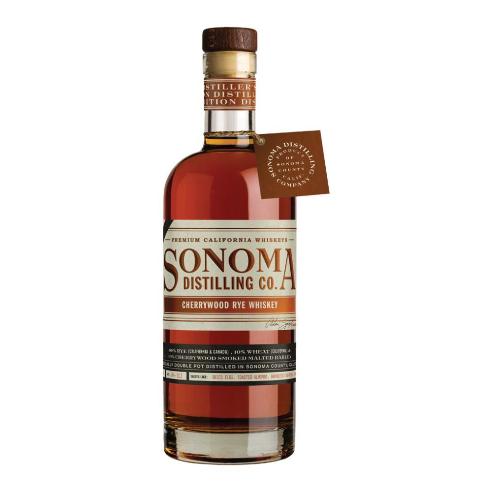 Sonoma Cherrywood Rye Whiskey Rye Whiskey Sonoma Distilling Company