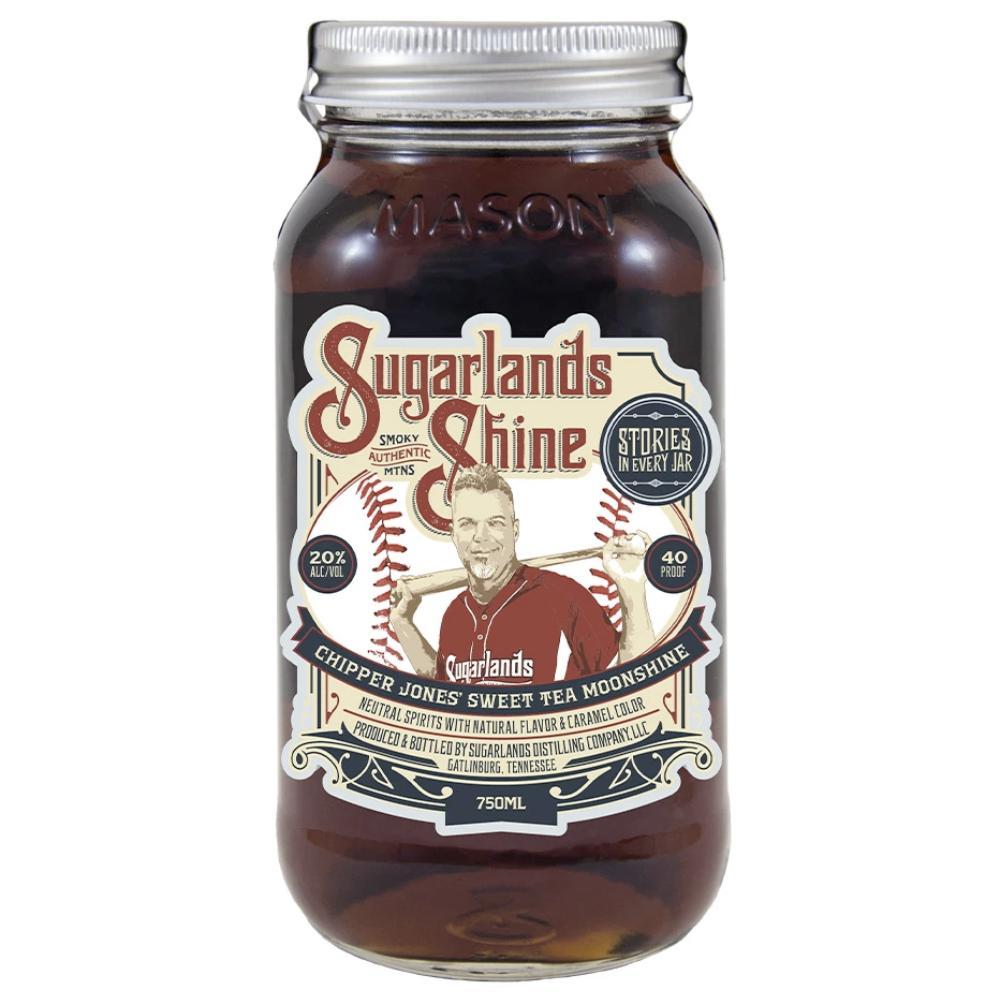 Sugarlands Chipper Jones' Sweet Tea Moonshine Moonshine Sugarlands Distilling Company