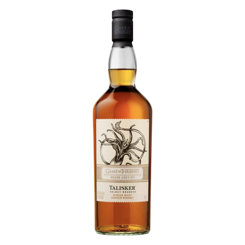 Talisker Select Reserve - Game Of Thrones House Greyjoy Scotch Talisker