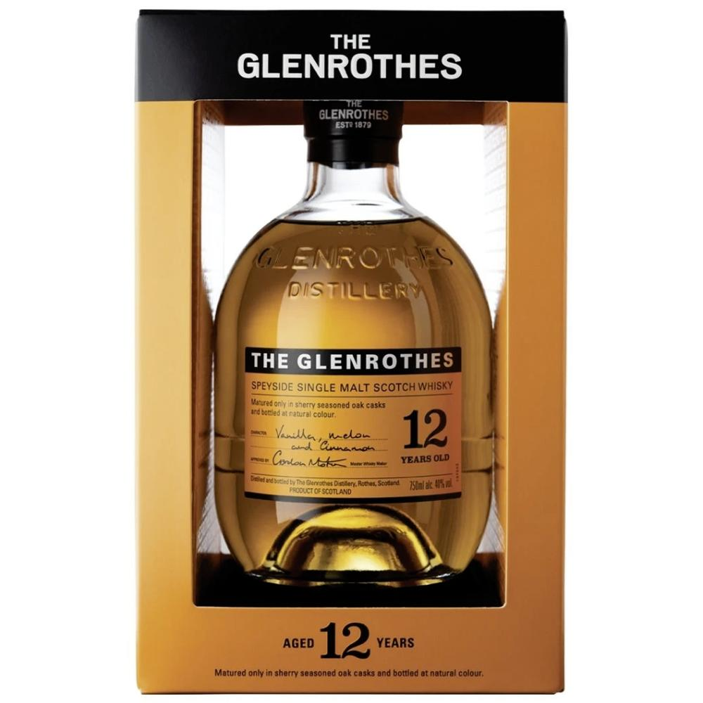 The Glenrothes 12 Year Old Scotch The Glenrothes