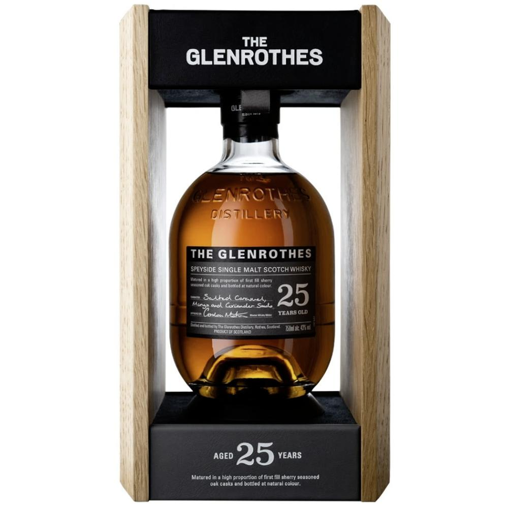 The Glenrothes 25 Year Old Scotch The Glenrothes
