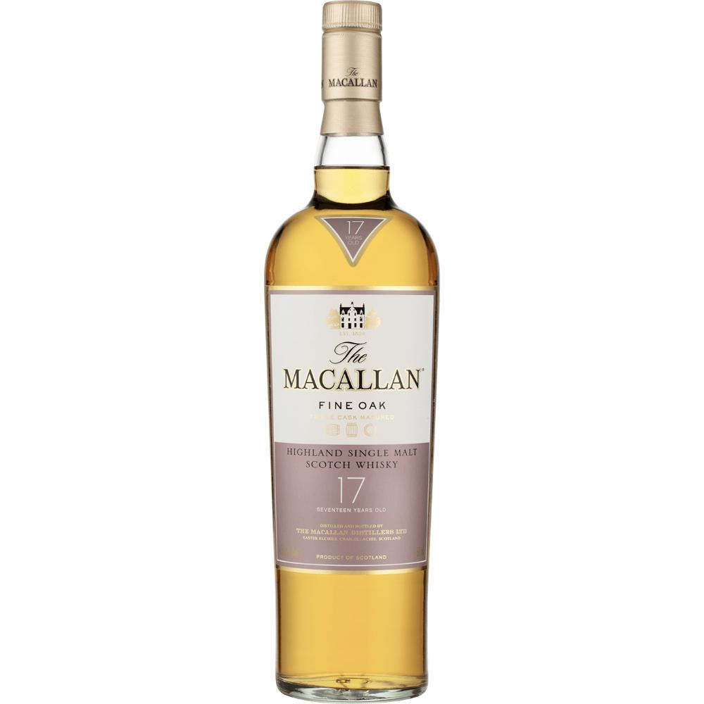 The Macallan 17 Year Old Fine Oak Scotch The Macallan