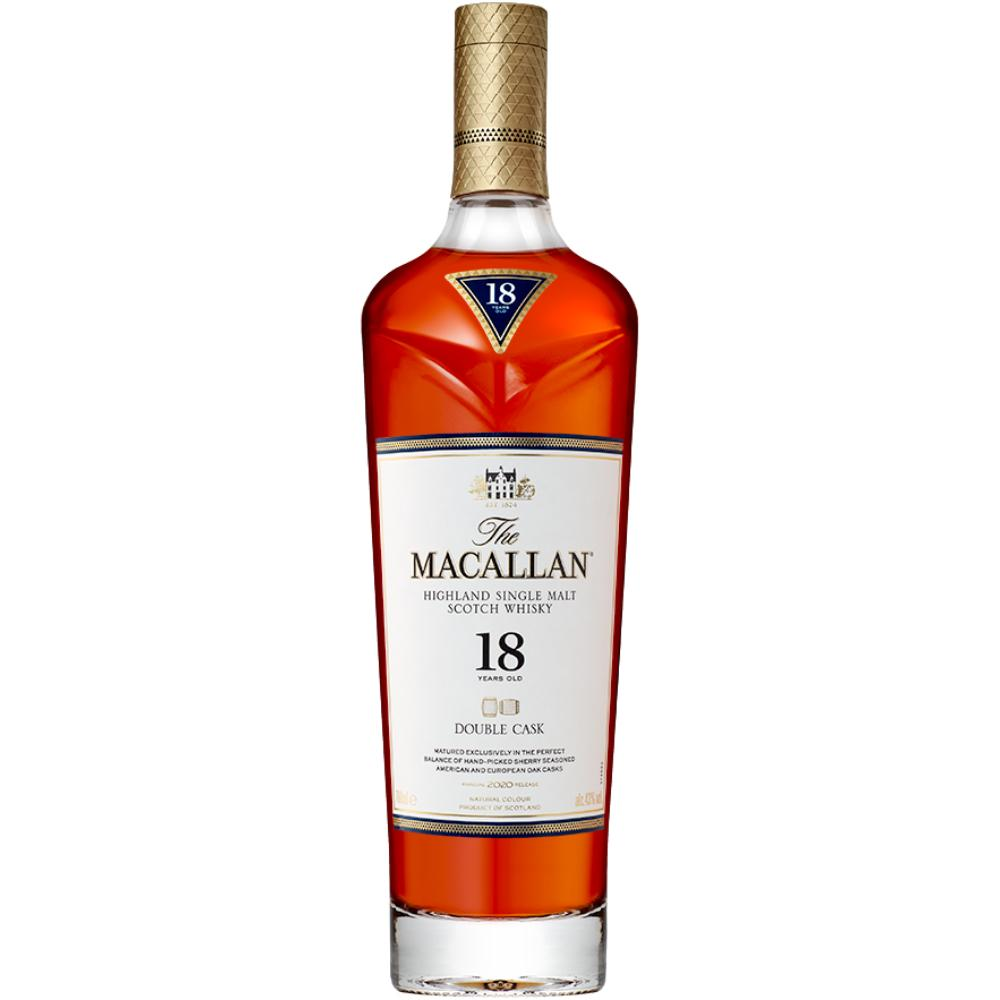 The Macallan Double Cask 18 Years Old Scotch The Macallan