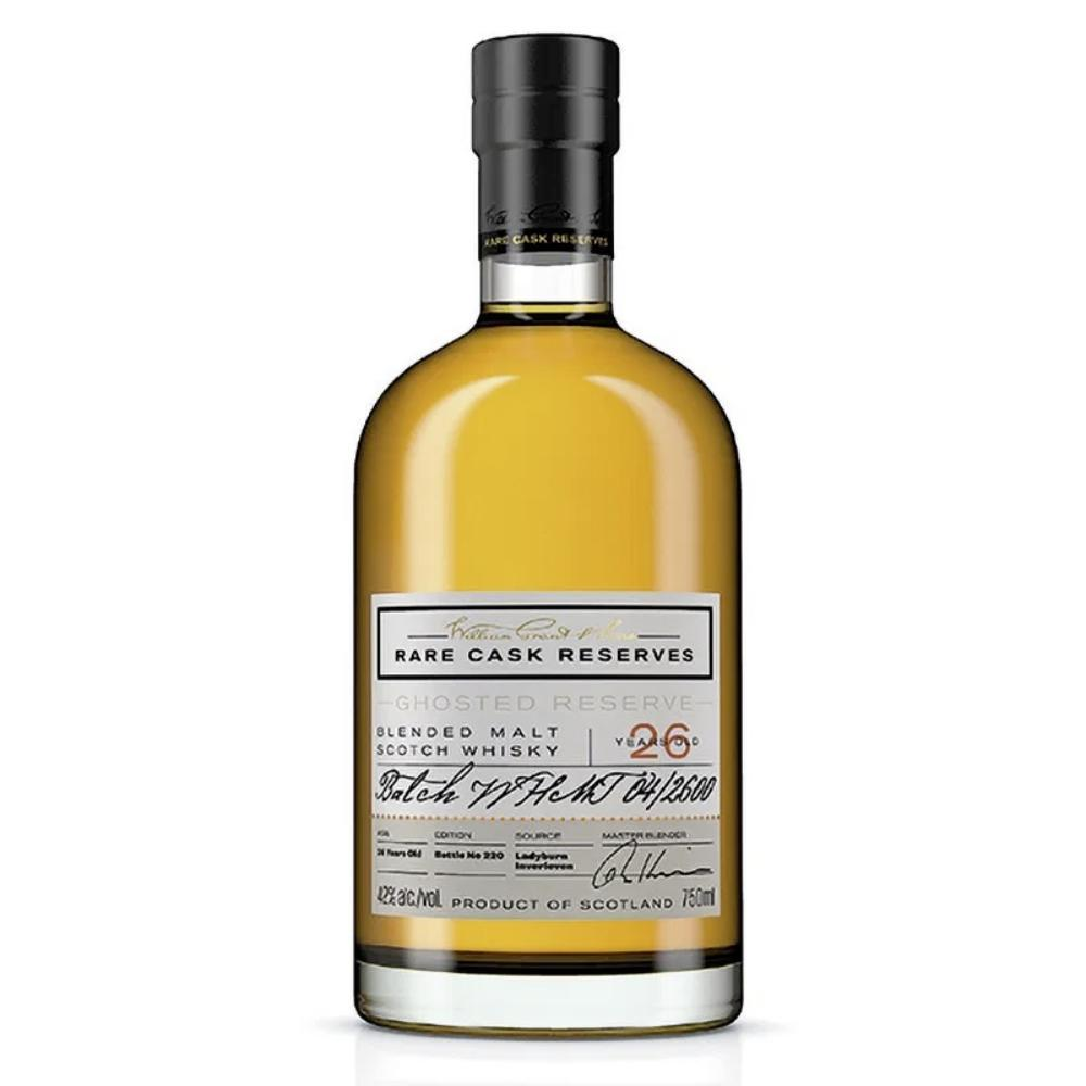 William Grant & Sons' Rare Cask Reserves Ghosted Reserve 26 Year Scotch William Grant & Sons'