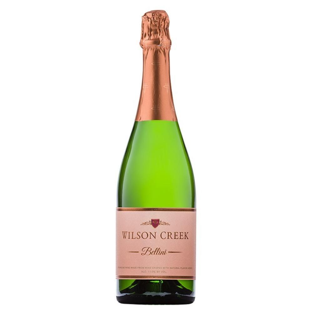Wilson Creek Peach Bellini Sparkling Wine Champagne Wilson Creek