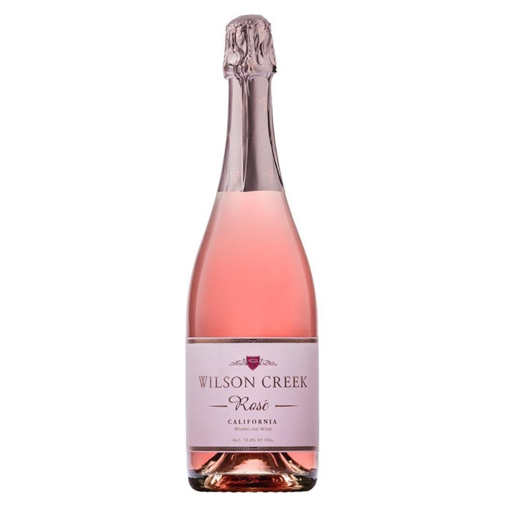 Wilson Creek Rose Sparkling Wine Champagne Wilson Creek