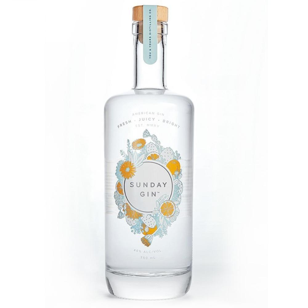 You & Yours Distilling Co. Sunday Gin Gin You & Yours Distilling Co