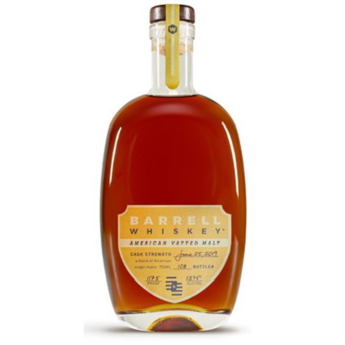 Barrell Whiskey American Vatted Malt American Whiskey Barrell Craft Spirits