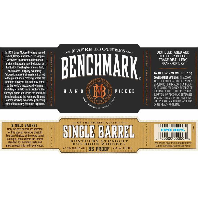 Benchmark Single Barrel Bourbon Benchmark