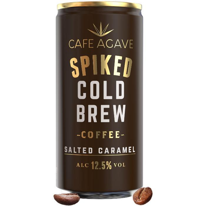 Cafe Agave Spiked Cold Brew Coffee Salted Caramel | 4 Pack Spiked Cold Brew Coffee Cafe Agave