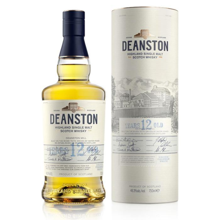 Deanston 12 Year Old Scotch Deanston Whisky